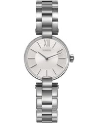 Rado - R22854013 Women's Coupole Bracelet Strap Watch - Lyst