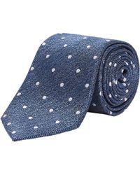 Richard James - Spot Weave Silk Tie - Lyst