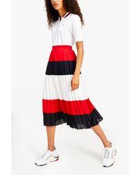 Tommy Hilfiger Global Stripe Polo - White