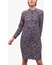 Gerard Darel Joy Floral Shift Dress - Multicolour