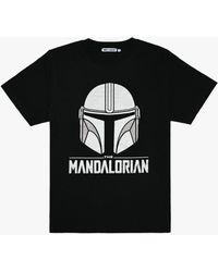 Fabric Flavours Star Wars Mandalorian T-shirt - Black