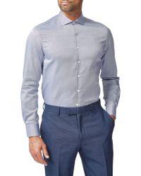 Simon Carter - Dobby Oxford Slim Fit Shirt - Lyst