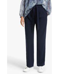 Modern Rarity Paperbag Trousers - Blue