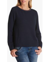 Betty Barclay Betty & Co.textured Top - Blue