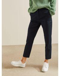 Modern Rarity Cotton Rich Slim Leg Trousers - Multicolour