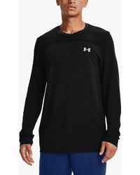 Under Armour Seamless Long Sleeve Training Top - Black