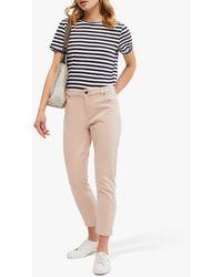 White Stuff Neo Stripe Jersey T-shirt - Blue