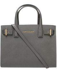 Kurt Geiger - Saffiano London Leather Tote Bag - Lyst