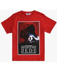 Fabric Flavours Star Wars Return Of The Jedi Poster T-shirt - Red