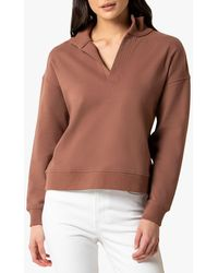Forever New Olympia Collar Jumper - Multicolour