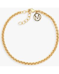 Melissa Odabash - Box Chain Bracelet - Lyst