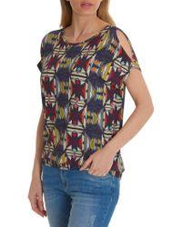 Betty Barclay - Aztec Print T-shirt - Lyst