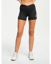 adidas Alphaskin Sport 3-stripes Short Tights - Black