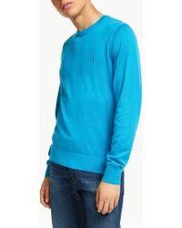 Tommy Hilfiger Cotton Silk Jumper - Azul