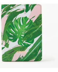 John Lewis - Tropical Leather Passport Cover - Lyst
