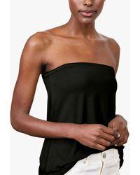 Baukjen Lily Bandeau Jersey Top - Black