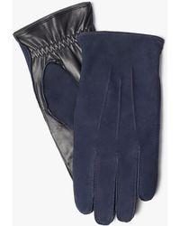 John Lewis - Nubuck Leather Gloves - Lyst
