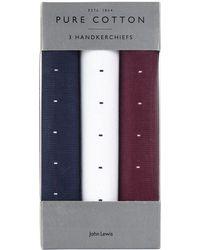 John Lewis - Ditsy Cotton Handkerchiefs - Lyst