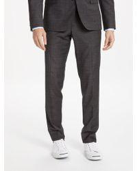 J.Lindeberg | Super 140s Wool Slim Fit Suit Trousers | Lyst