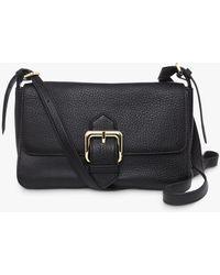 Hobbs Selborne Leather Shoulder Bag - Black