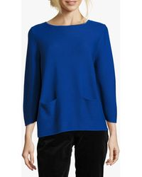 Betty Barclay Pocket Knit Jumper - Blue