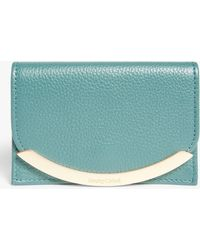 See By Chloé Lizzie Mini Leather Purse - Blue