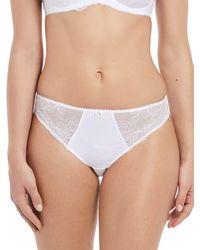 Fantasie Estelle Bikini Briefs - White