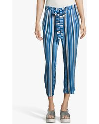 Betty Barclay Cropped Trousers - Blue