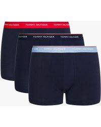 Tommy Hilfiger Premium Essential Trunks - Blue