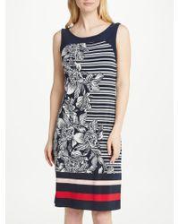 Gerry Weber   Sleeveless Print Jersey Dress   Lyst