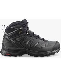 Salomon X Ultra Mid 3 Waterproof Gore-tex Hiking Boots - Black