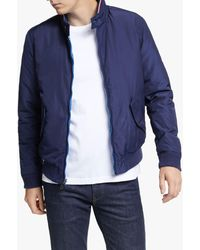 Tommy Hilfiger Reversible Down Harrington Jacket - Azul