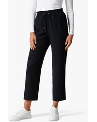 Forever New Jen Stretch Waist Trousers - Black