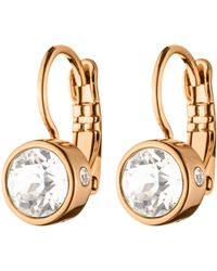 John Lewis - Dyrberg/kern Swarovski Crystal Hook Earrings - Lyst