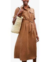 Baukjen Cooper Shirt Dress - Brown