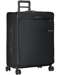 Briggs & Riley Baseline Expandable 4-wheel Spinner Large Suitcase - Black