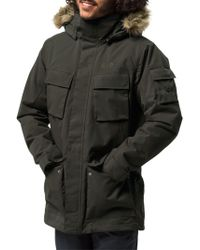 02ab88609f Jack Wolfskin - Glacier Canyon Insulated Men s Waterproof Parka - Lyst