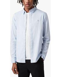 AllSaints Hawthorne Shirt - Blue
