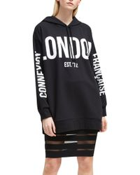 French Connection - Graphic Jersey Sweatshirt - Lyst