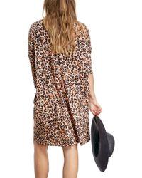 John Lewis - Hush Leopard Print Ivy Dress - Lyst