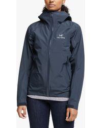 Arc'teryx Zeta Sl Gore-tex Waterproof Jacket - Blue