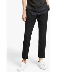 Modern Rarity Slim Leg Trousers - Black