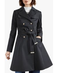 Ted Baker Molson Classic Trench Coat - Blue