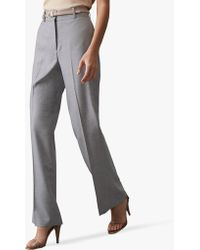 987f8262c Reiss - Essie Wide Leg Tailored Trousers - Lyst