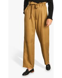 Jigsaw Soft Twill Utility Trousers - Multicolour