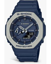 G-Shock G-shock Carbon Core Resin Strap Watch - Blue