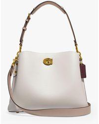 COACH Willow Leather Shoulder Bag - Multicolour