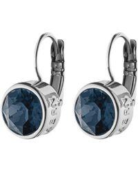 Dyrberg/Kern | Dyrberg/kern Louise Swarovski Crystal French Hook Drop Earrings | Lyst