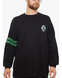 Fabric Flavours Harry Potter Slytherin Oversized Sweatshirt - Black