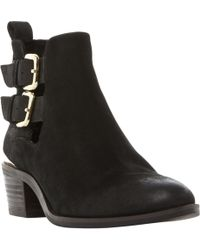 Steve Madden | Picos Cut Out Ankle Boots | Lyst